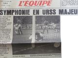 Последний прорыв сборной СССР на Евро-1988. Продолжение мексиканских феерий в отборе