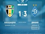 "Александрия  vs ДК. ""Первый тайм"" выигран"