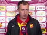 Сергей Лавриненко: «Сегодня удача была на нашей стороне, но могли увезти и три очка»
