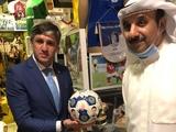 Поздравление для «Динамо» от Чрезвычайного и Полномочного Посла Украины в Кувейте