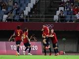Олимпиада-2020. Футбол: результаты 1/4 финала. Испания и Бразилия идут далее!