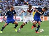 Германия — Аргентина. Обзор матча