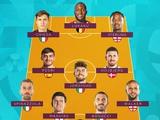 УЕФА опубликовал символическую сборную чемпионата Европы. Итальянское превосходство (ФОТО)