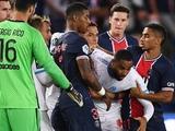 Массовая драка в чемпионате Франции: Неймар и еще четверо игроков были удалены (ВИДЕО)