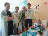 Гармаш, Буяльский и Мякушко навестили раненных бойцов АТО (ФОТО)