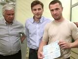Сергей Ребров: «Чем могу, тем и помогаю нашей армии, также как и все футболисты «Динамо»