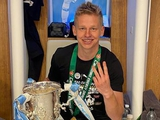 Александр Зинченко похвастался седьмым трофеем, выигранным с «Манчестер Сити» (ФОТО)