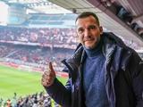 Андрей Шевченко поддержал «Милан» в победном матче на «Сан Сиро» (ФОТО)