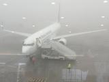 «Александрия» «застряла» в Борисполе из-за тумана