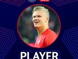 Холанд — игрок недели в Лиге чемпионов