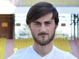Динамовец Бадри Акубардия перешел в «Гомель»
