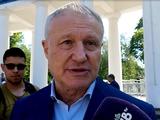 Григорий Суркис: «Такое впечатление, что Андрей Шевченко оправдывает Федерацию футбола Украины...» (ВИДЕО)