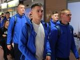 Динамовцы вернулись в Киев и получили четыре выходных