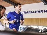 Касильяс провел первую тренировку на поле после инфаркта