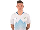 Беньямин Вербич сделал дубль в матче сборной Словении (ВИДЕО)