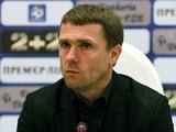 «Черноморец» – «Динамо» – 0:2. Послематчевая пресс-конференция
