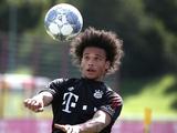 Сане провел первую тренировку в «Баварии»
