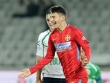 14-летний игрок «Стяуа» отметился голом в дебютном матче