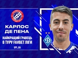 Эхо полтавского разгрома: де Пена и Михайличенко — лучшие игрок и тренер тура по версии УПЛ