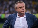 Игорь Суркис: «Полностью доверяю Реброву»