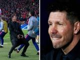 УЕФА может дисквалифицировать Симеоне на один матч ЛЧ из-за его жеста в игре с «Ювентусом»