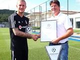 Кариус стал лауреатом премии «Посол немецкого футбола»