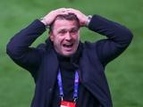 Стали известны детали контракта Сергея Реброва в качестве главного тренера сборной Украины