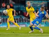 Сборная Украины — в 1/4 финала Евро-2020! Швеция — Украина — 1:2. Обзор матча, статистика