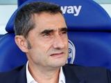 Вальверде: «Футболисты «Барселоны» играли, как единое целое»