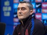 Вальверде разозлился на боссов «Барселоны»