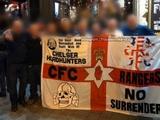 Фанаты «Челси» привезли в Венгрию на матч Лиги Европы флаг с нацистским символом (ФОТО)