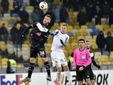 Whoscored: «Динамо» — безусловно лучшая команда группы «В» Лиги Европы