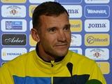 Андрей Шевченко: «В игре с Албанией попросил команду добыть результат»