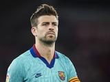 Пике: «Я ношу форму «Барселоны» не для того, чтобы быть вторым или третьим»