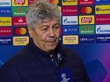 Мирча Луческу: «Нельзя сказать, что мы играли плохо — мы играли очень хорошо»