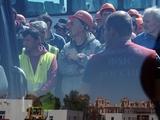 На строительстве «Зенит Арены» прошла облава на мигрантов