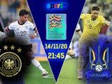 Германия vs Украина или в ожидании Швейцарии...