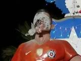 Статуе Алексиса Санчеса в Чили изуродовали лицо (ФОТО)
