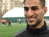 Захеди Шахаб: «Надеюсь игра с «Шахтером» сложится поспокойнее, чем с «Динамо»