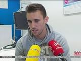 Йосип Пиварич пообщался с журналистами после операции на колене