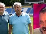 Будулай в форме Динамо. Спиридон целует Футболку.