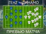 ВИДЕО: Превью к матчу «Гент» — «Динамо», представление соперника, прогноз составов