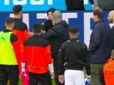 Фанаты «Грассхоппера» с позором сняли футболки с игроков своей команды во время матча (ВИДЕО)