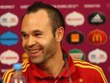 Иньеста назван лучшим игроком Евро-2012