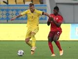 Лига наций, 1-й тур. Украина — Швейцария — 2:1. Обзор матча, статистика