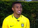 Габриэл Жезус стал самым молодым капитаном сборной Бразилии с 1995 года