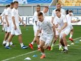 Тренировка сборной Украины во Львове: ФОТОрепортаж, ВИДЕО