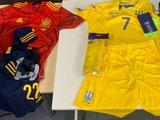 Сборная Украины сыграет с Испанией в желтой форме