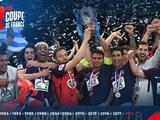 Футболисты ПСЖ разрешили капитану «Ле-Эрбье» поднять над головой трофей Кубка Франции