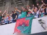 В России фанатов заставили снять баннер из-за слова «Кенигсберг»